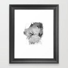 Palm Eyes Framed Art Print