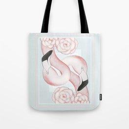 Flamingle Tote Bag