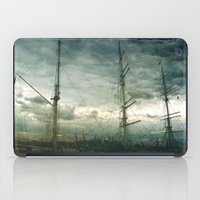 sailboat iPad Cases featuring Sailboat by Fine2art