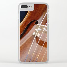 Cello Admiration Clear iPhone Case