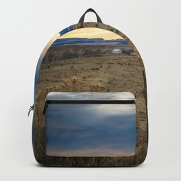 Forever West - Warm Light on a Cold Winter Morning in New Mexico Backpack