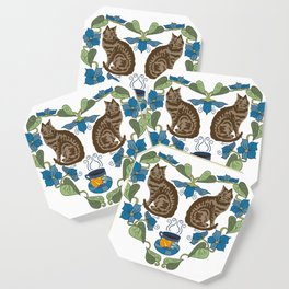 Coffee and Cats Coaster