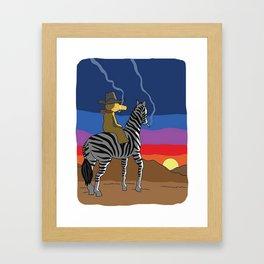 Bandana Madlib Gibbs Quas Framed Art Print