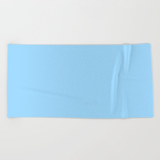 Simply Blue Raspberry Beach Towel