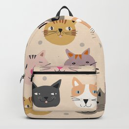 Cat You See I Love You Backpack