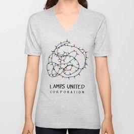 Lamps United Corporation Unisex V-Neck