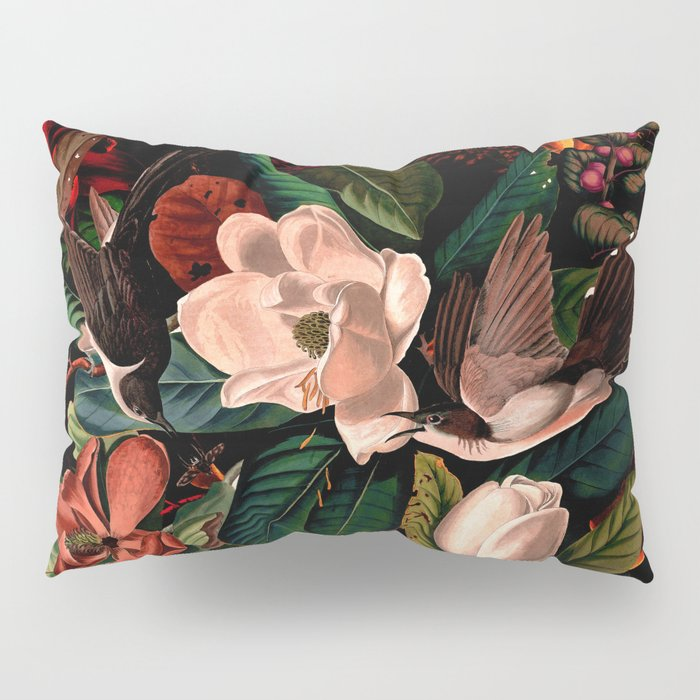 FLORAL AND BIRDS XIV Pillow Sham