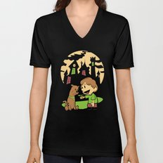 Shaggy n Scoob Unisex V-Neck
