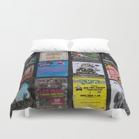 music notes Duvet Covers featuring Poster Notes by Bestree Art Designs
