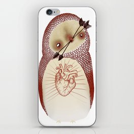 arrow owl  iPhone Skin