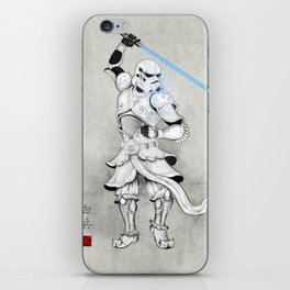 Samurai Trooper iPhone Skin