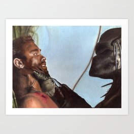 Predator Scene Art Print