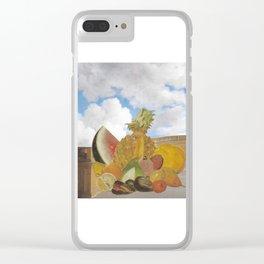 Fruitopia Clear iPhone Case