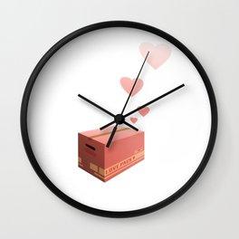 Love Box Wall Clock