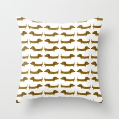 The Essential Patterns of Childhood - Dog Throw Pillow