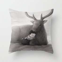 The Only Child Throw Pillow