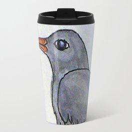 Bird on the Flower / Graja y Bejeque Travel Mug
