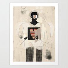 Philosophy of the heart Art Print