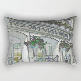 Crutched Friar Pub London Rectangular Pillow
