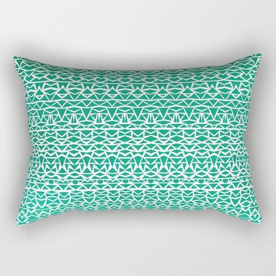Tribal Forest Rectangular Pillow