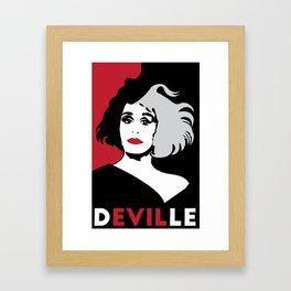 Deville Framed Art Print