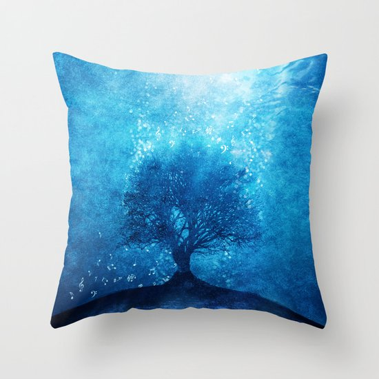 Songs from the sea. Throw Pillow