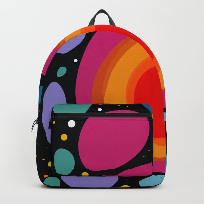 Galaxy Abstract Pattern Minimalist Decoration Backpack