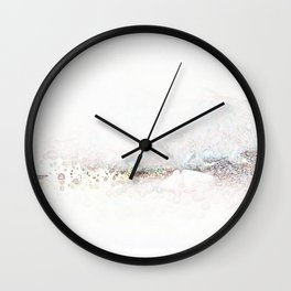 The Edges Wall Clock