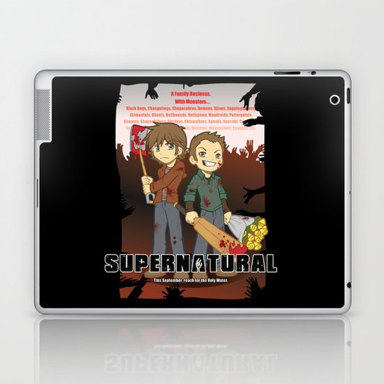 Supernatural - Goin to the Winchesters Laptop & iPad Skin