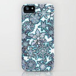 Gentle Snowstorm iPhone Case