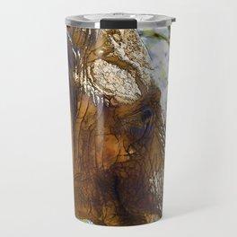 Portrait of an Elephant Travel Mug