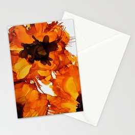 Sunflower Dance Stationery Cards