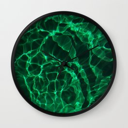 The Green Dive Wall Clock