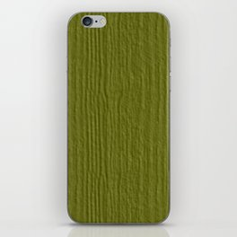 Woodbine Wood Grain Color Accent iPhone Skin