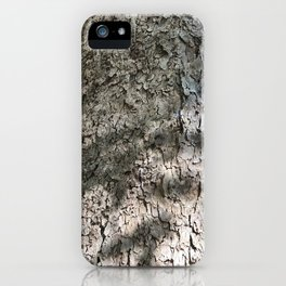 Sycamore Tree Bark iPhone Case