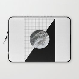 Grid and marble Laptop Sleeve
