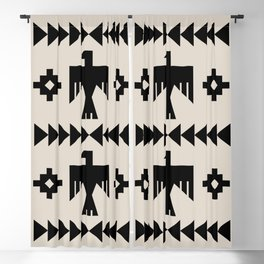 Southwestern Eagle and Arrow Pattern 123 Blackout Curtain