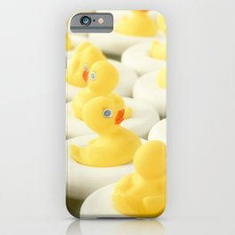 Rubber Ducky Time iPhone Case