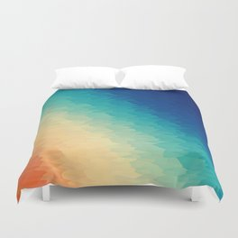 Warm to Cool Texture Duvet Cover