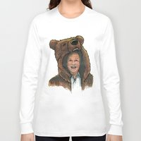 marc Long Sleeve T-shirts featuring Bear Suit Marc by Kyle Miller