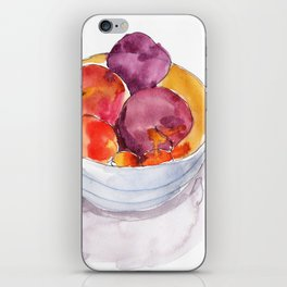 Stone Fruit iPhone Skin
