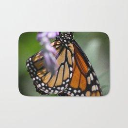 Monarch Danaus Plexippus Bath Mat