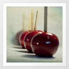 Candy Apples Art Print