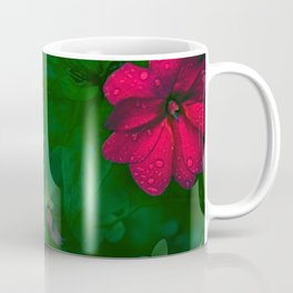 Gathering of Flowers - [Green Version] Coffee Mug