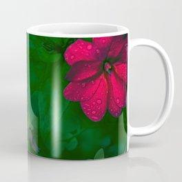 Gathering of Flowers - [Green Version] Coffee Mug