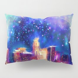 Starry Night Los Angeles Pillow Sham