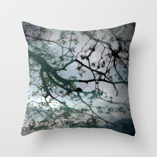 tree mystery Throw Pillow
