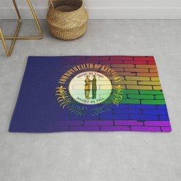 Rainbow Wall Kentucky Rug