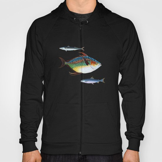 Into the Deep, Ocean Swimming Fish Hoody
