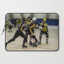 Tyne and Fear on the offense Laptop Sleeve